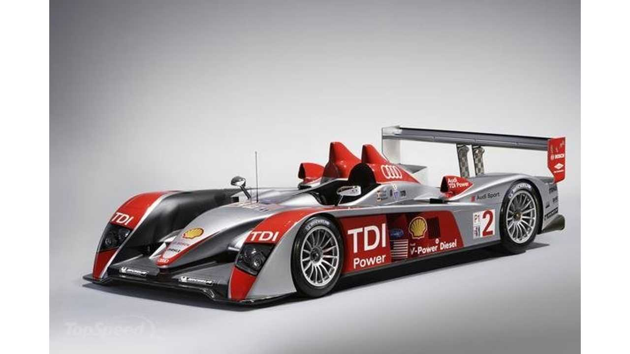 Audi R10 Could Borrow Porsche 918 Spyder Plug-In Hybrid Setup