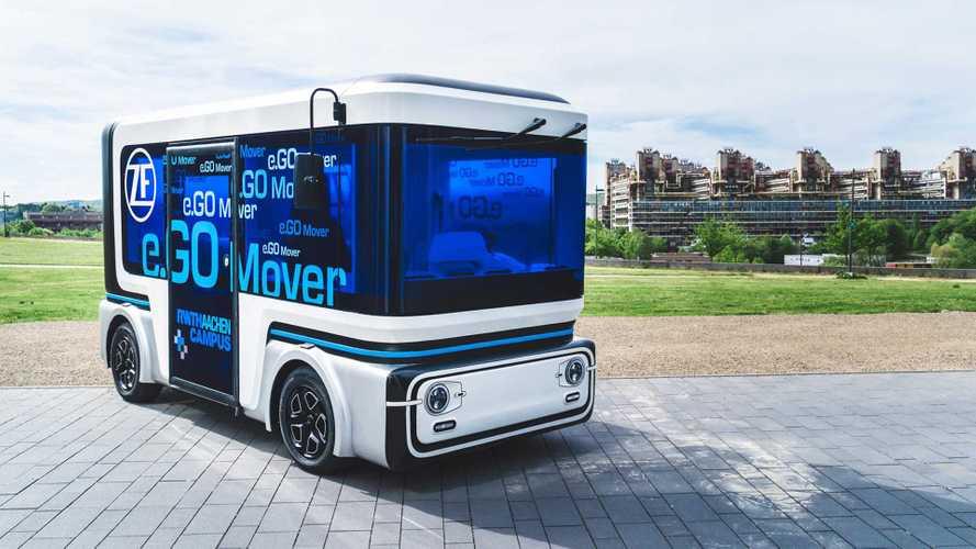 CES 2019, ZF e Transedev insieme per un veicolo autonomo