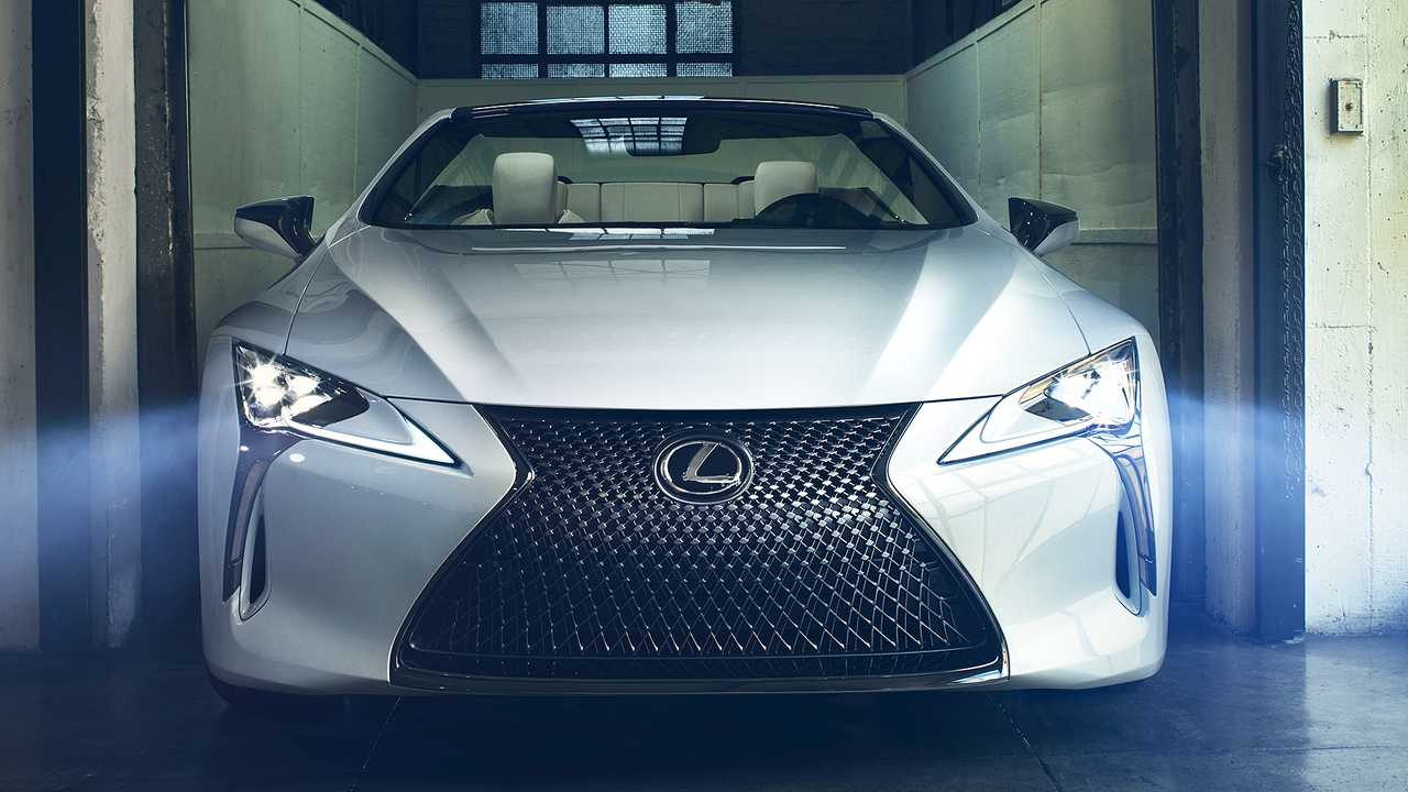 Lexus Lc Convertible Concept Debuts As Stylish Topless Tourer