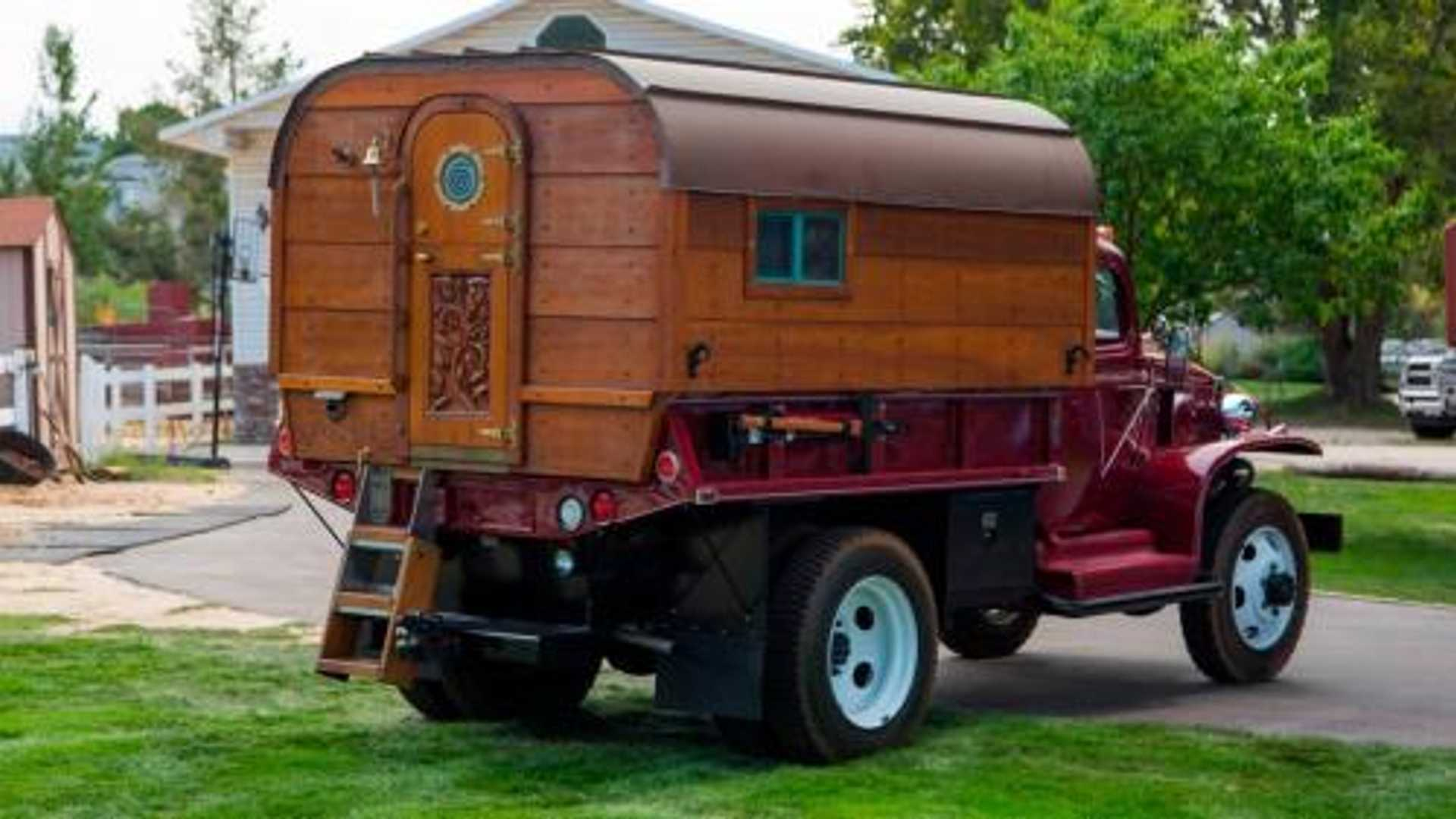 "[""Buy This Chevrolet WWII Army Truck Converted into a Camper""]"