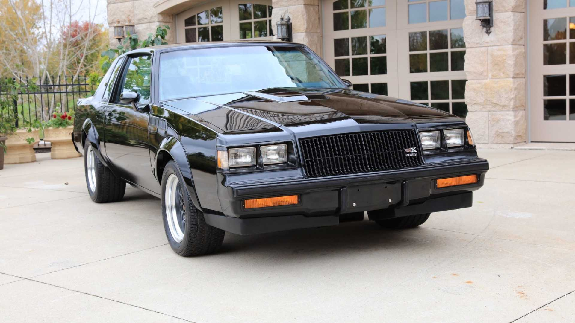 "[""Driven Only Eight Miles, This 1987 Buick GNX Is Basically New""]"