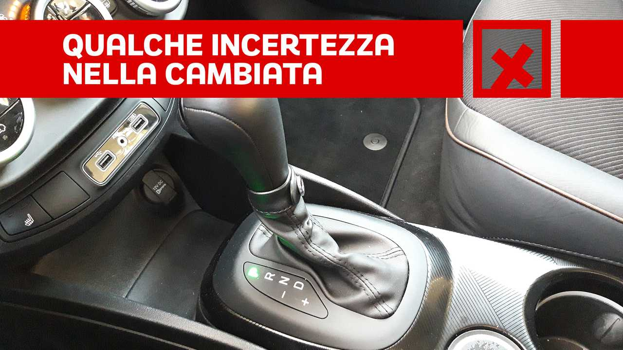 Fiat 500X Cross 1.3 T4 150cv DCT, contro CAMBIO