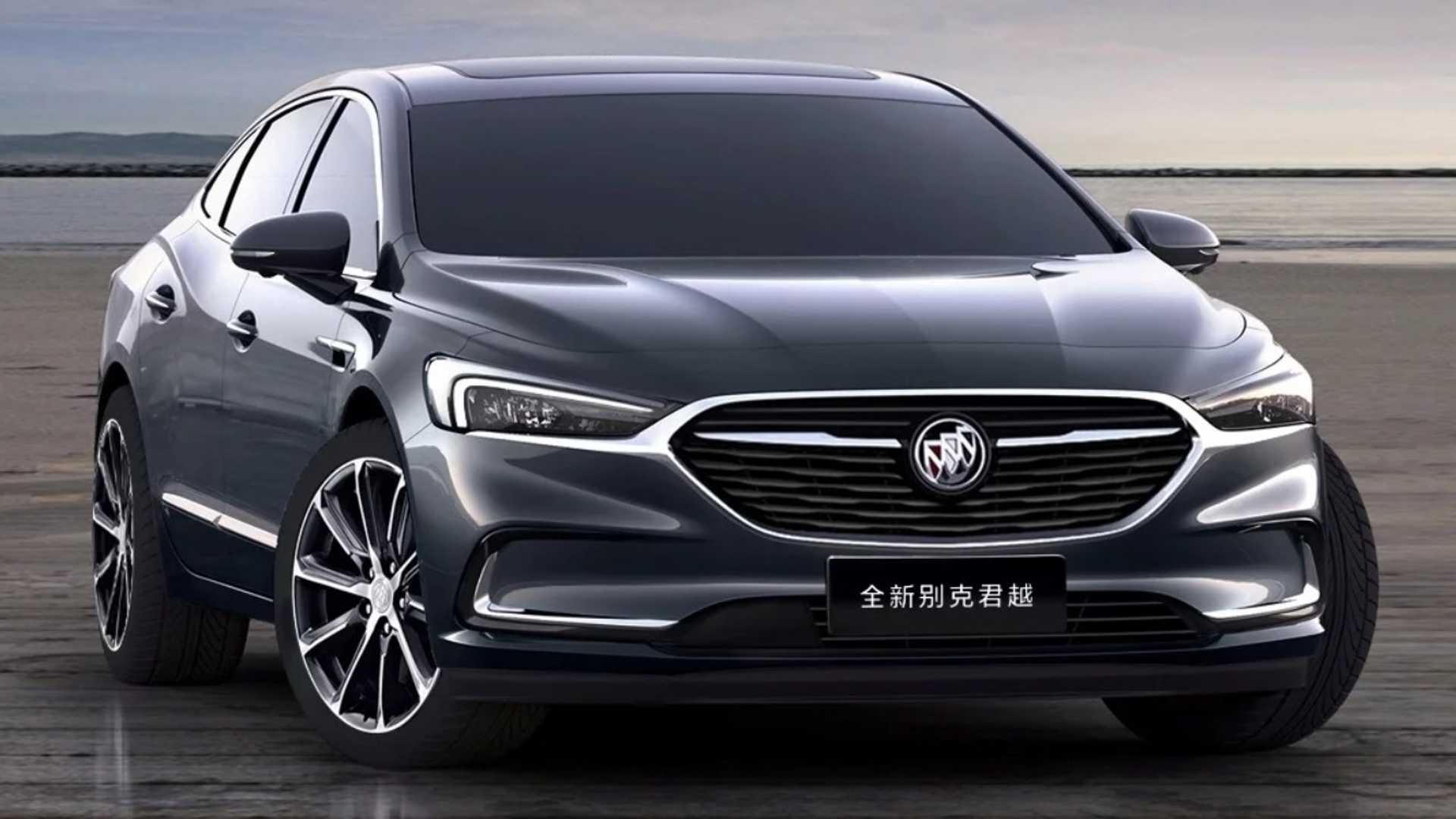 2020 Buick LaCrosse New Concept