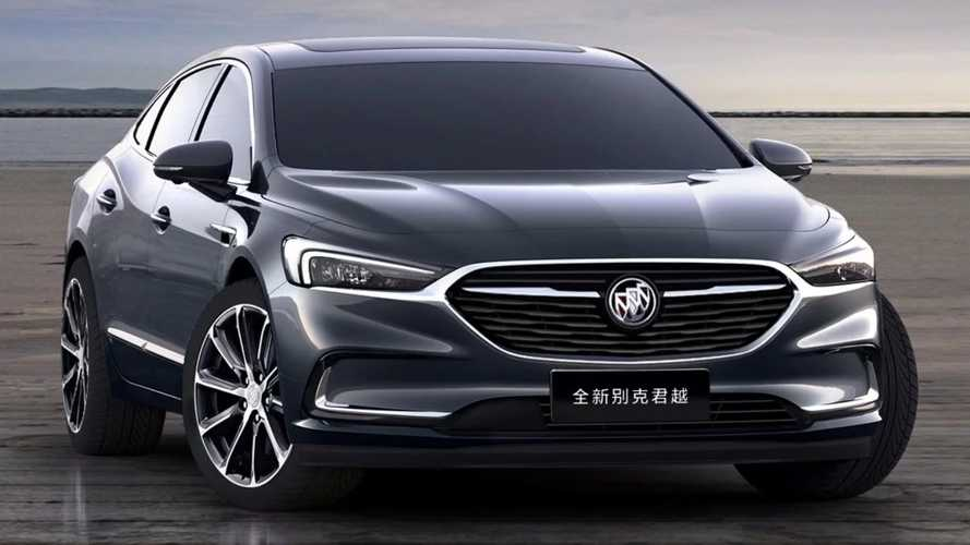 Buick LaCrosse Facelift Goes Official In China