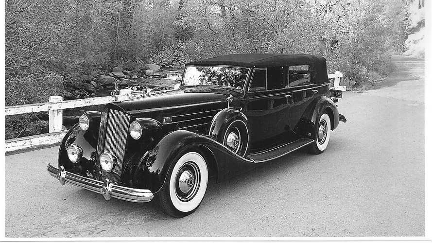 Fancy Something New For Your CARavan Tour? A 1937 Packard Maybe