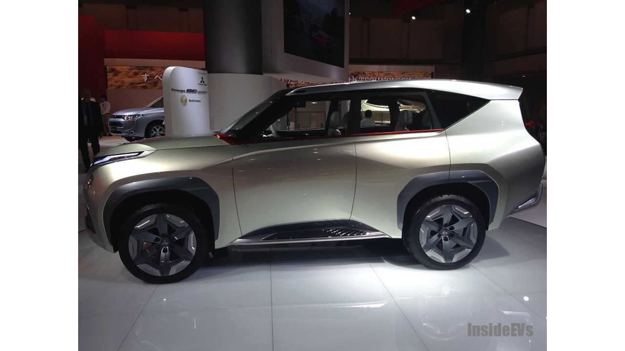 Video:  Mitsubishi Concept GC-PHEV - Foreshadows The Return Of The Montero, But With 25 Miles Of Range?