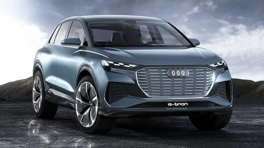 450 kilométeres hatótávolságot kínál az Audi Q4 e-tron tanulmány