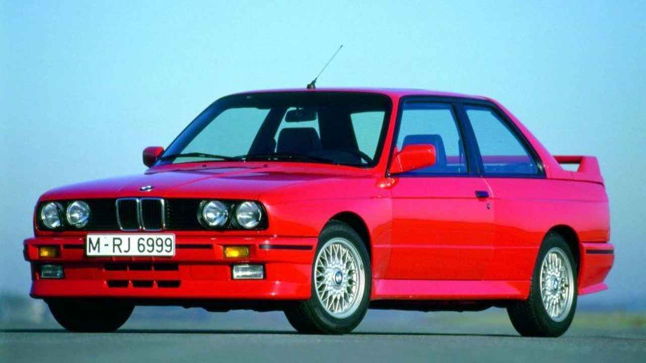 20 Years of BMW M3 - BMW M3 E30
