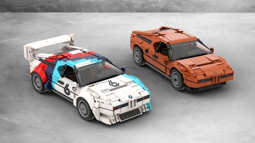 Lego Ideas BMW M1 creation offers road and race car