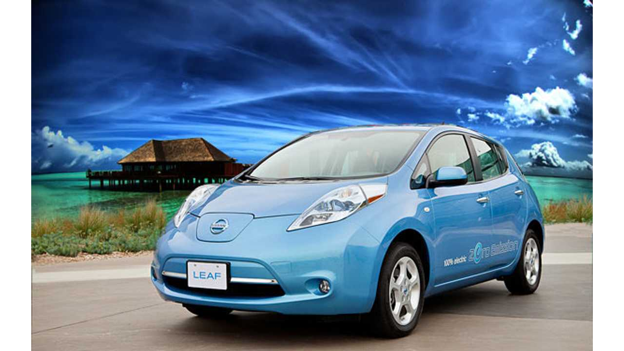 Renault-Nissan Sell 43,829 Electric Vehicles in 2012