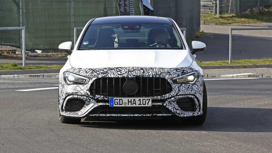 New Mercedes-AMG CLA 45 spy photos