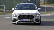 New Mercedes-AMG CLA 45 spy photos