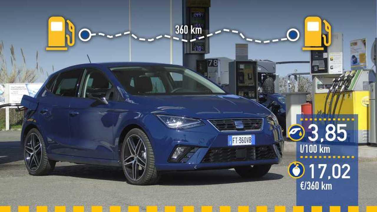 Seat Ibiza FR 1.6 TDI DSG 2019, prueba de consumo real