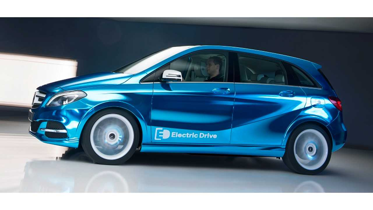 Mercedes To Premiere Concept B-Class Electric Drive In Paris, For Sale In 2014 In US