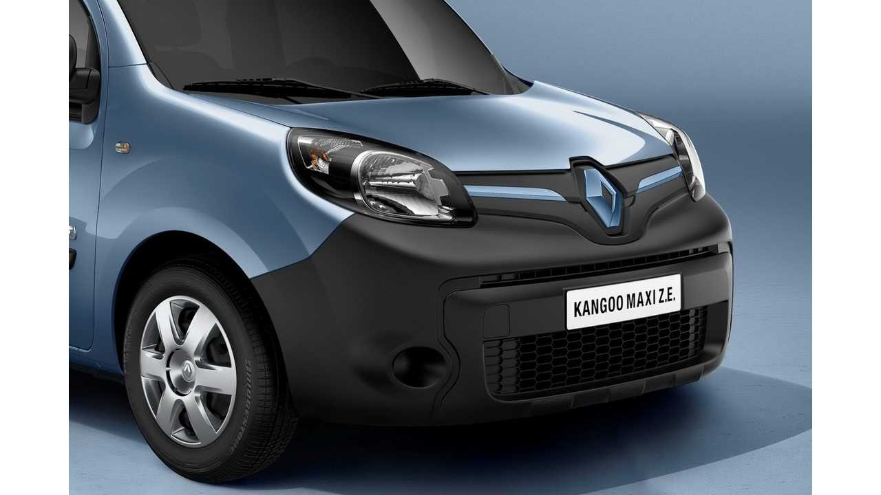 All Electric 2013 Renault Kangoo Z.E. Gets A New Face