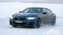 BMW 8-Series Gran Coupe Spy Photo