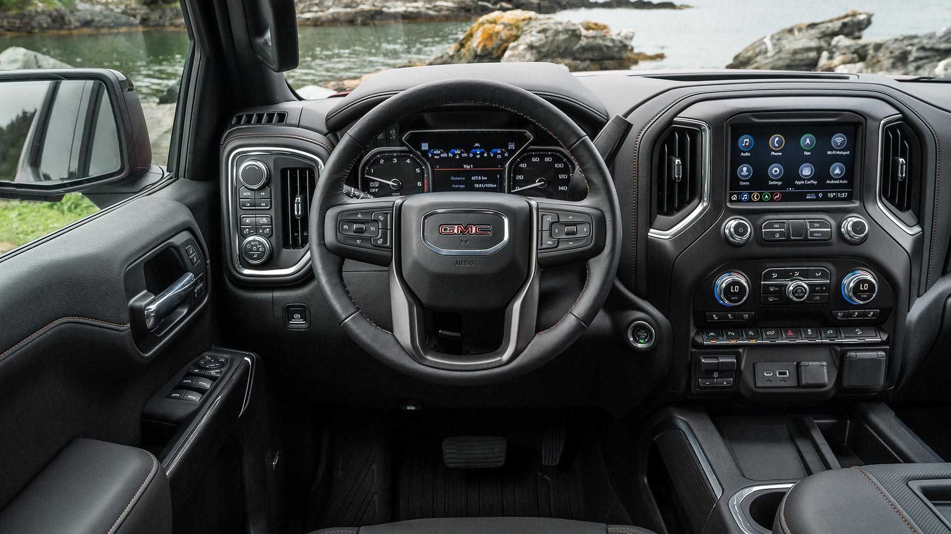 2018 - [Chevrolet / GMC] Silverado / Sierra - Page 2 2019-gmc-sierra-at4-off-road-performance-package