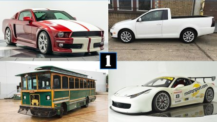 Coolest Cars For Sale This Week: From Ferrari Race Car To City Bus