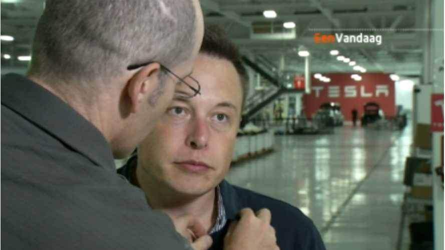 Elon Musk Talks All Things Europe (and US, and Mars) In Quirky Dutch Interview (Video)