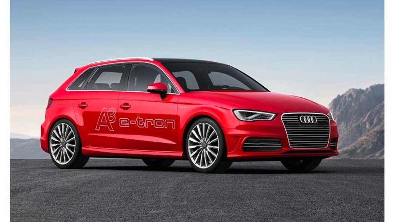 Audi Prices A3 Sportback e-tron From 37,000 Euros ($49,000 USD)