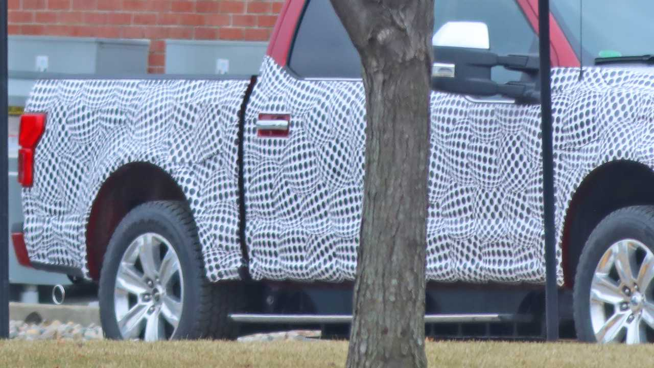 Photos du Ford F-150 EV Spy
