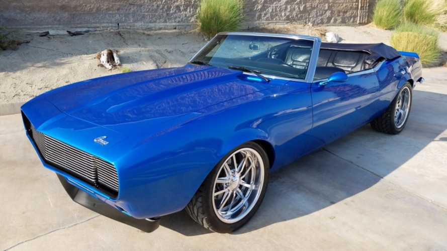 Mint ProTouring 1968 Camaro SEMA Car Could Be Yours!