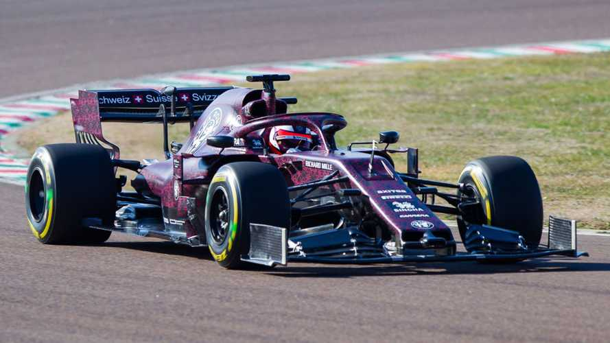 Alfa Romeo's 2019 F1 car makes Fiorano debut