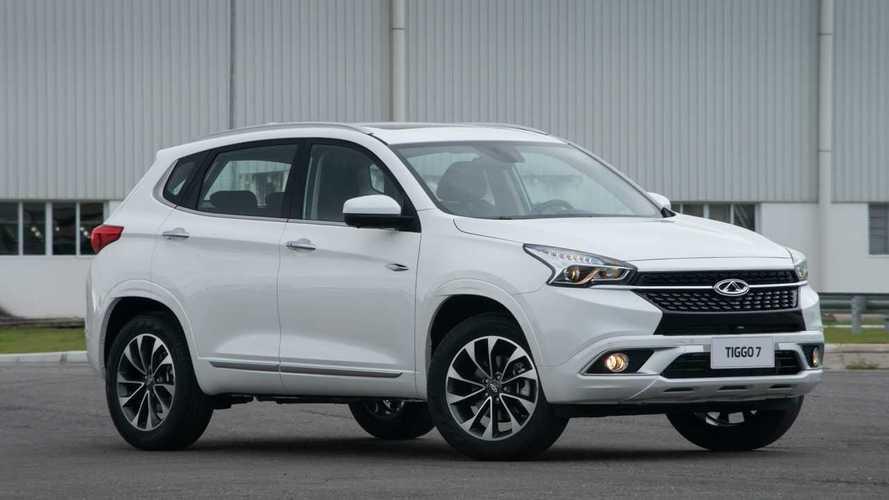 Vendas de SUVs em maio: Tiggo7 deixa RAV4 e CR-V para trás