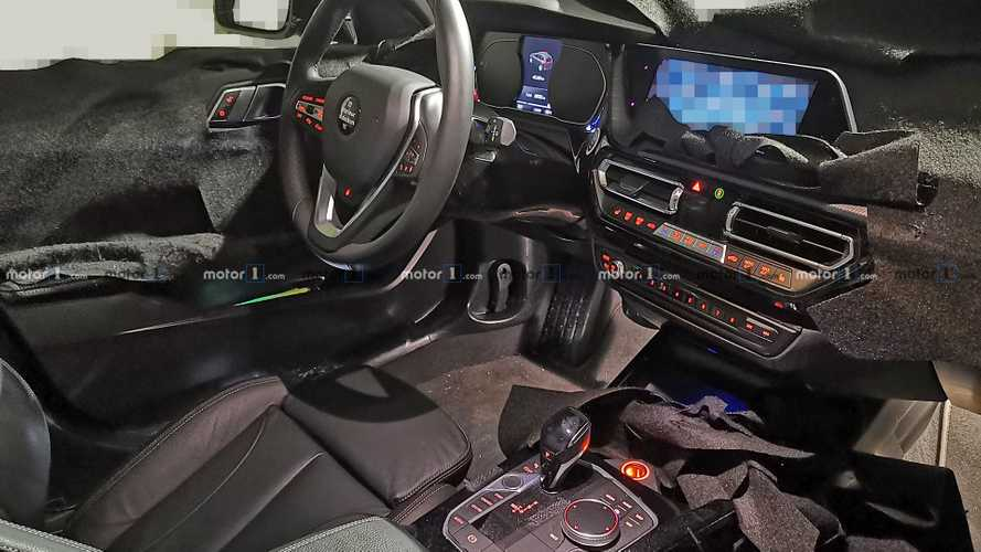 2019 BMW 1 Series interior exposed in new spy shots