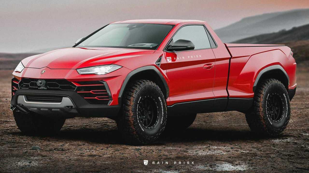 Lamborghini Urus Pickup Render