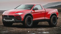 Lamborghini Urus wird in wildem Rendering zum Pickup
