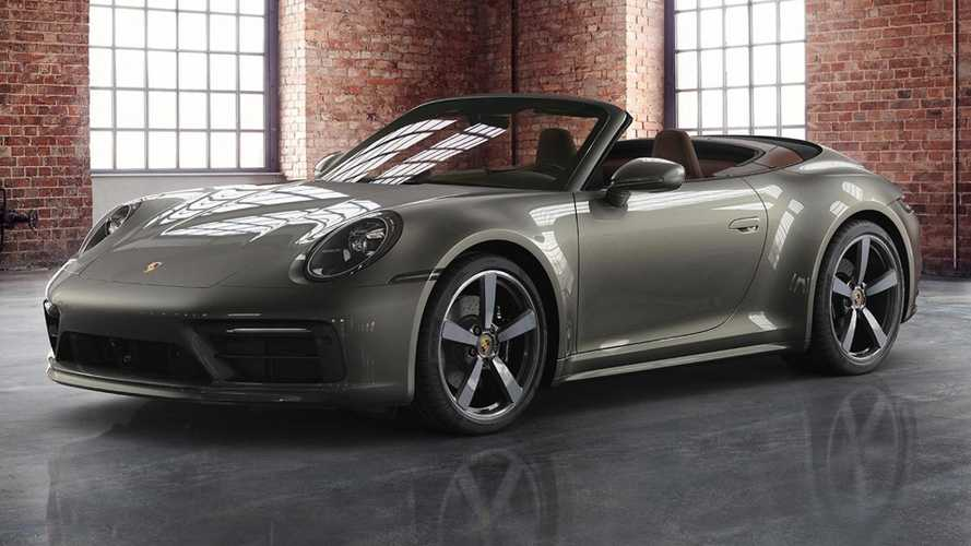 2020 Porsche 911 Cabriolet Looks Slick With Exclusive Manufaktur Options