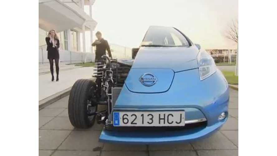 Video: This Here is the World's Most Head-Turning Nissan LEAF