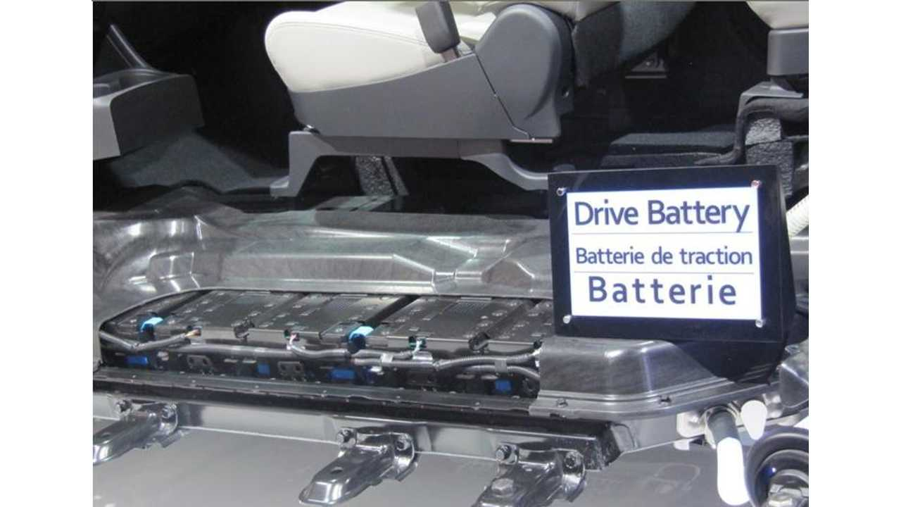 Mitsubishi Outlander PHEV's 12 kWh Lithium Battery...Which Don't Much Care For Being Dropped On The Ground Before Installation