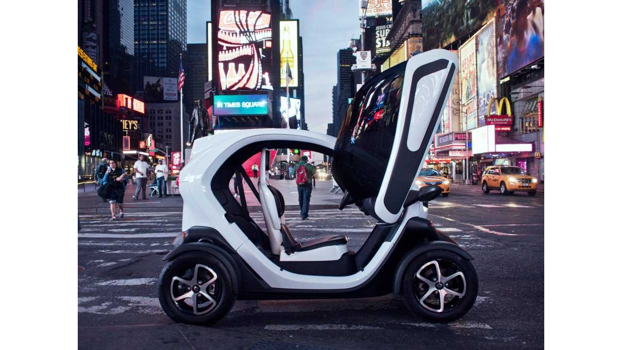 Strong Sales of the Renault Twizy Have Helped the Cause