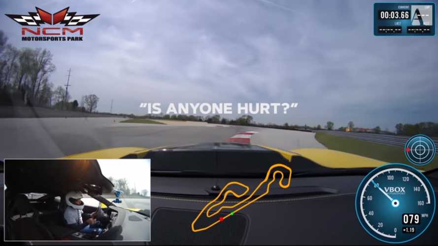 Corvette ZR1 Driven So Hard On Track It Calls OnStar 3 Times