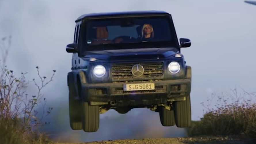 Mercedes Explains How To Drive The New G-Class Through Mud