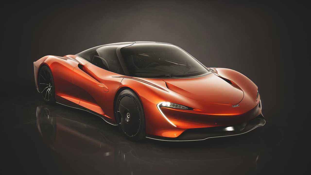 McLaren Speedtail Astral Konsepti