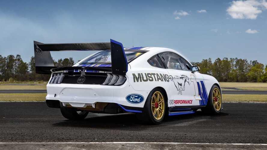 Meghökkentő Mustangot készítettek az ausztrál V8 Supercar sorozathoz