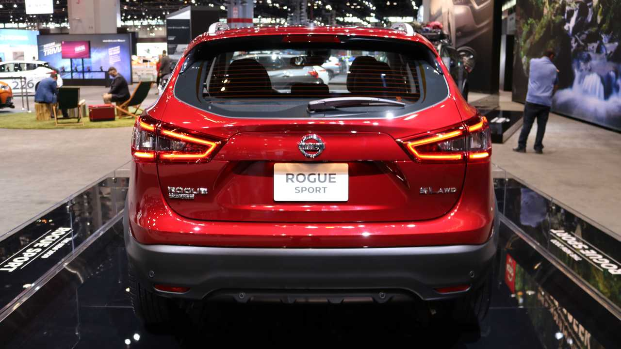 2020 nissan rogue sport shows off its fresh face in chicago