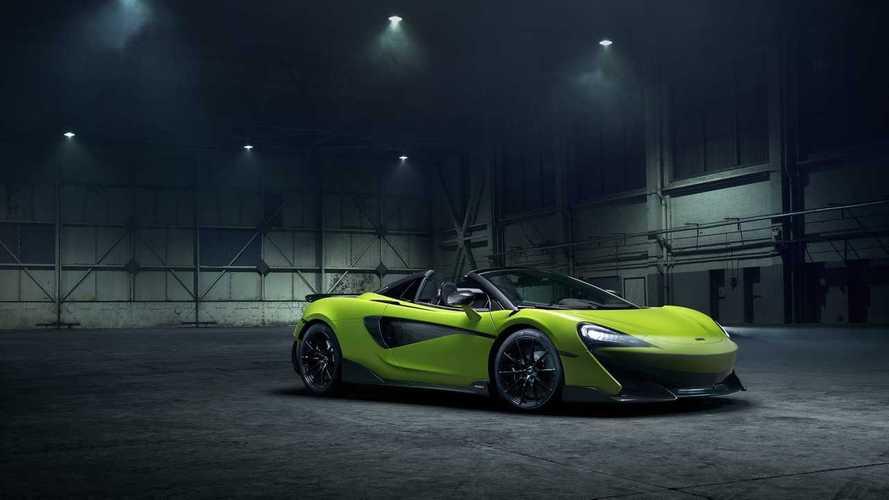 McLaren официально показал новый 600LT Spider