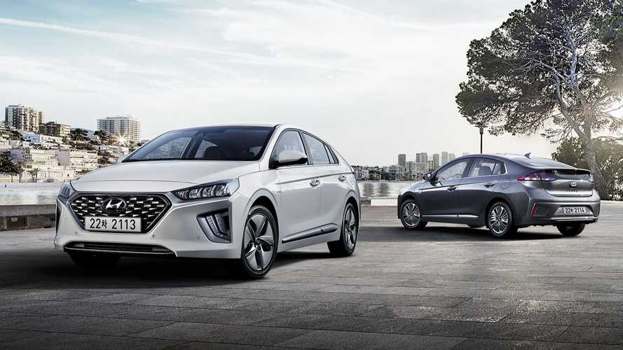 Hyundai Ioniq hybrid and plug-in hybrid