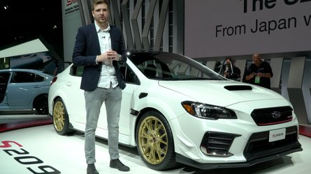 Subaru STI S209: Live from the Detroit Auto Show
