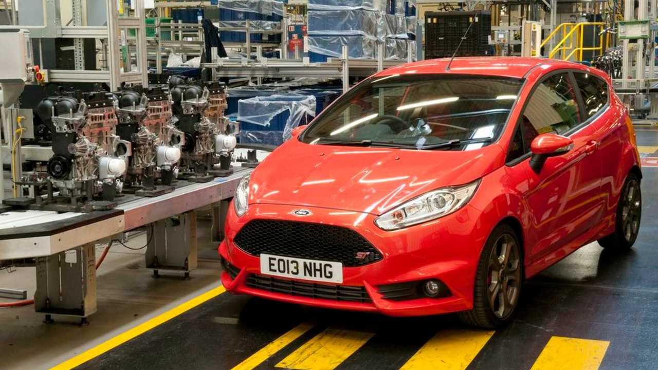 Ford Fiesta ST at Bridgend factory