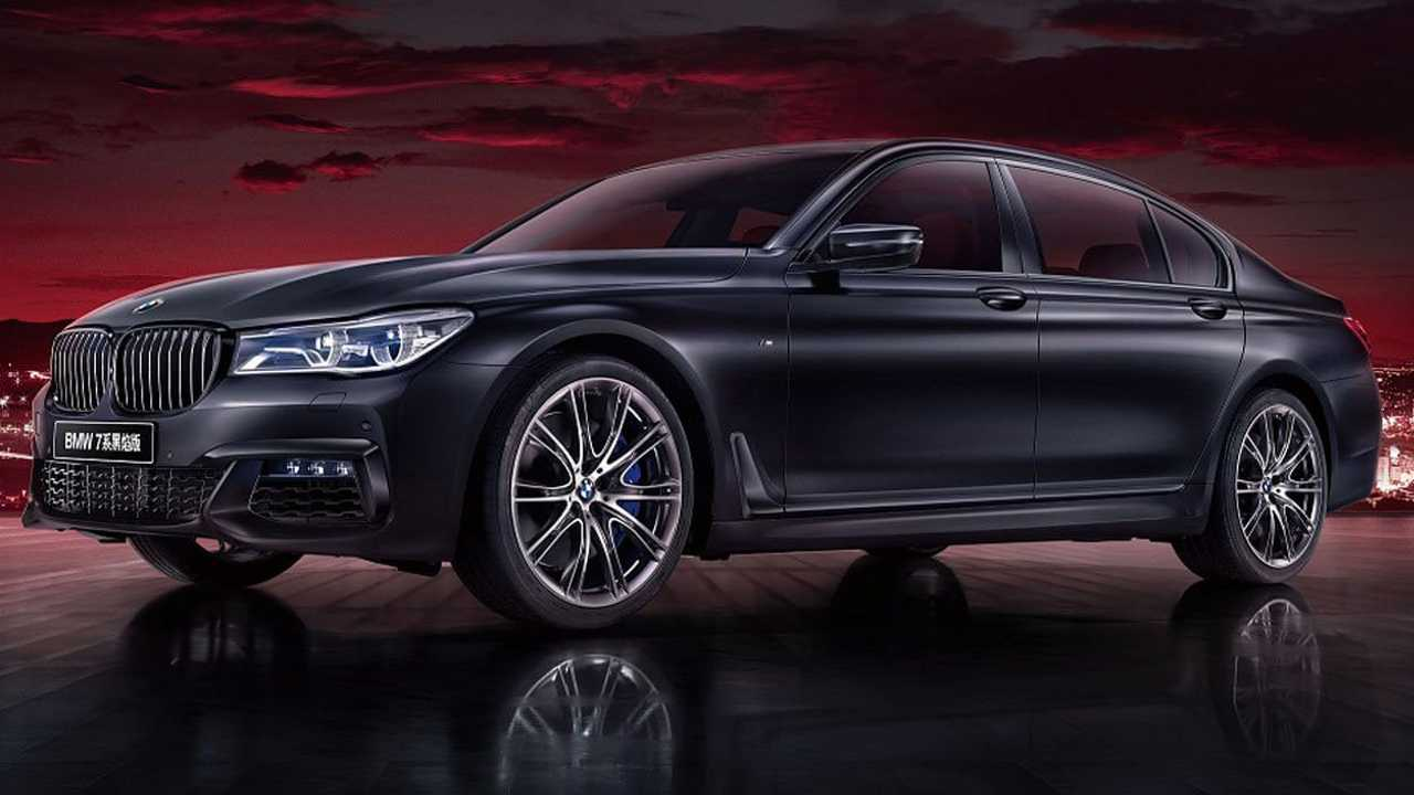 BMW 7 sorozatú Black Fire Edition