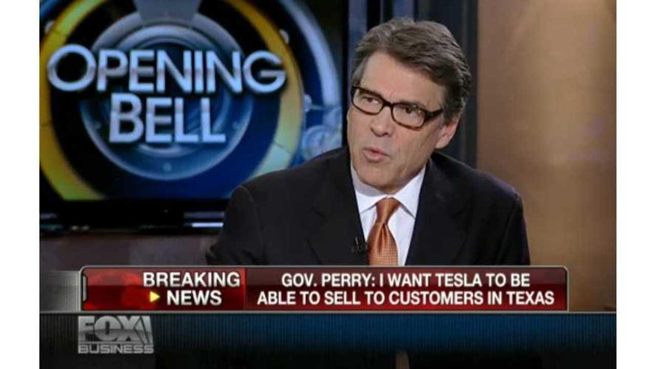 rick perry talks tesla on Fox Business 2