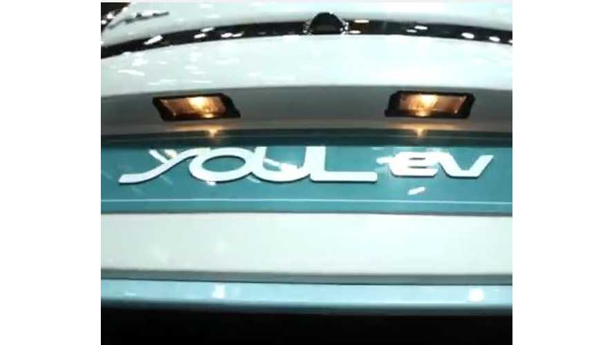 Up Close Look At The Kia Soul EV - Video