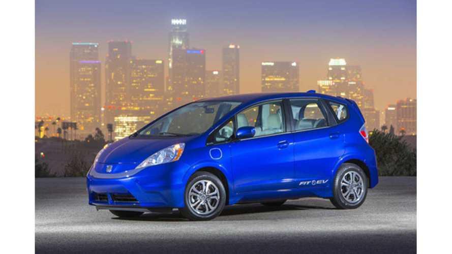 2013 Honda Fit EV Review