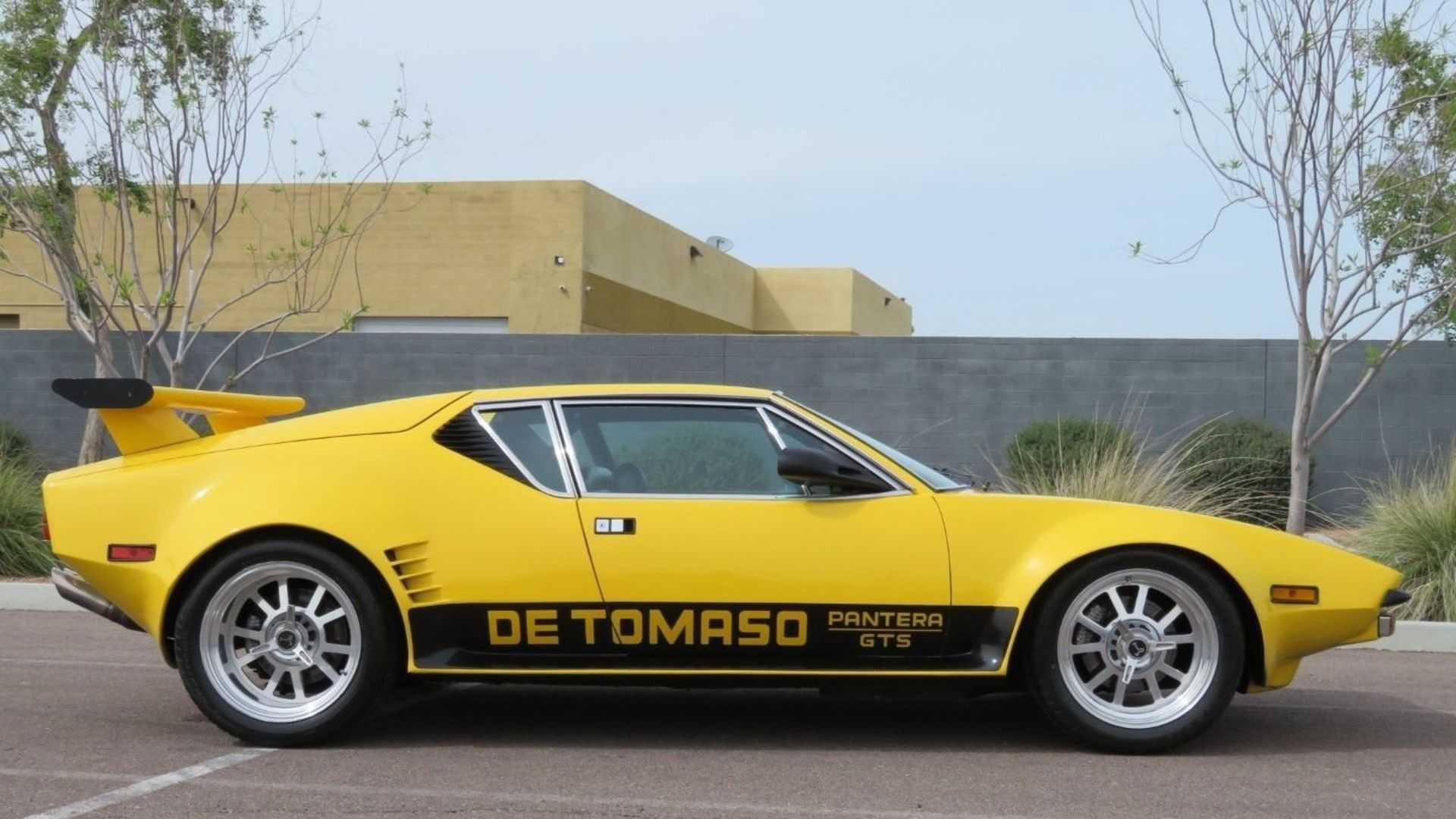 """[""""1973 From Tomaso Pantera GT5""""]"""