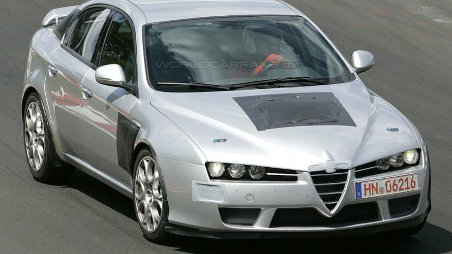 Alfa 159 GTA Spy Photos